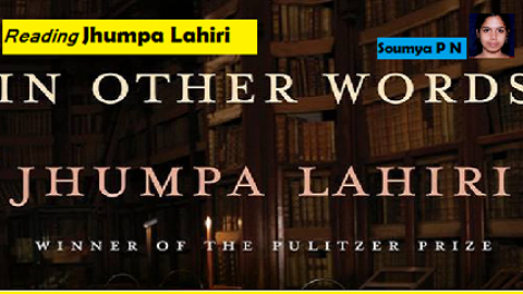 'In Other Words' – Jhumpa Lahiri